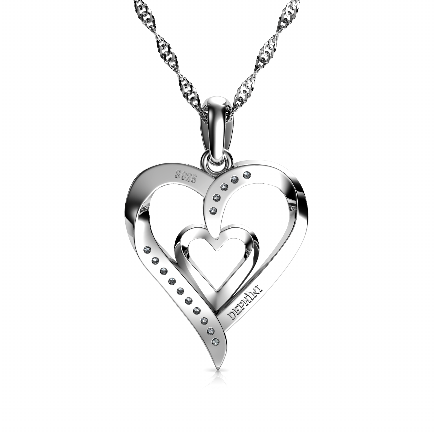 925 Heart necklace