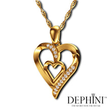 Load image into Gallery viewer, 18ct Gold Heart Necklace