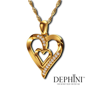 18ct Gold Heart Necklace