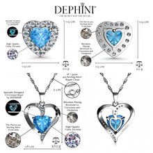 Load image into Gallery viewer, Women's heart Jewellery Set