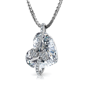 Crystal Heart Necklace dephini