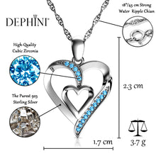 Load image into Gallery viewer, Heart CZ Necklace