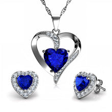 Load image into Gallery viewer, Blue Jewellery SET