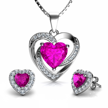 Load image into Gallery viewer, Pink Jewellery SET