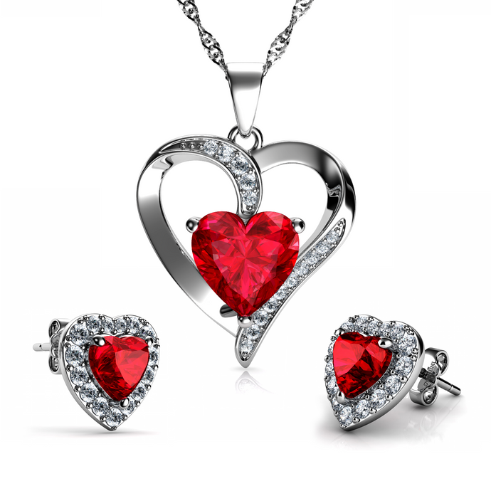 Red Jewellery SET