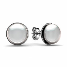 Load image into Gallery viewer, Pearl Stud Earrings