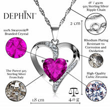 Load image into Gallery viewer, Pink Heart pendant