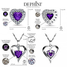 Load image into Gallery viewer, Purple Jewelry SET