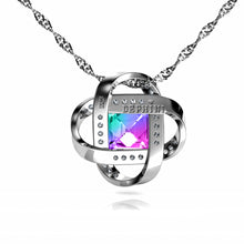 Load image into Gallery viewer, Colored Necklace aurore boreale