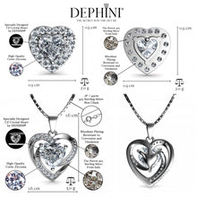 Load image into Gallery viewer, heart Jewellery Set