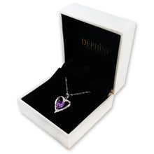 Load image into Gallery viewer, Luxury Purple Necklace