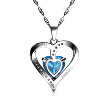 Load image into Gallery viewer, Silver Heart necklace