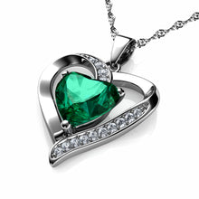Load image into Gallery viewer, Green Heart pendant