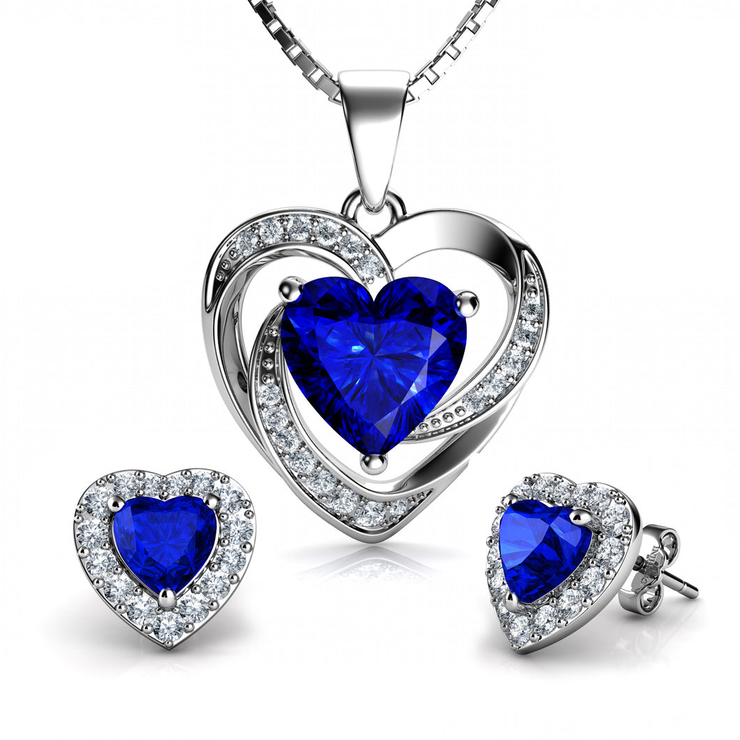Blue Jewellery SET
