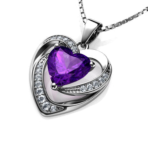 Purple Heart Pendant