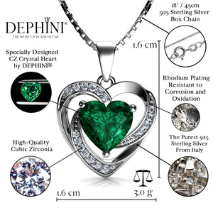Green Heart pendant