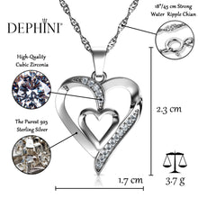 Load image into Gallery viewer, heart pendant set