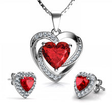 Load image into Gallery viewer, Red Jewellery SET