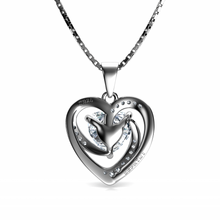Load image into Gallery viewer, White Heart Necklace