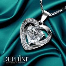 Load image into Gallery viewer, Dephini heart necklace