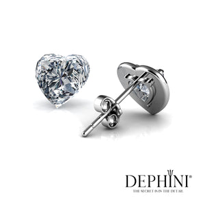 Dephini Heart earrings