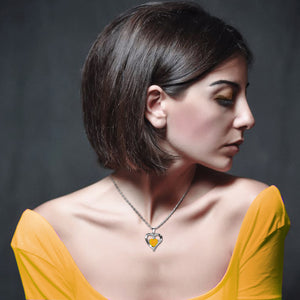 Yellow Necklace for women