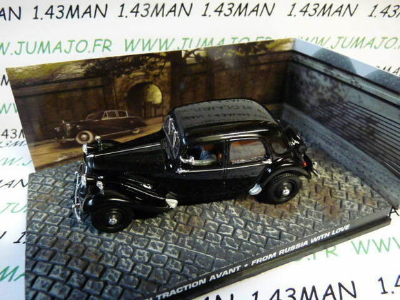 JB40 voiture 1/43 IXO altaya 007 JAMES BOND : CITROËN Traction avant from russia