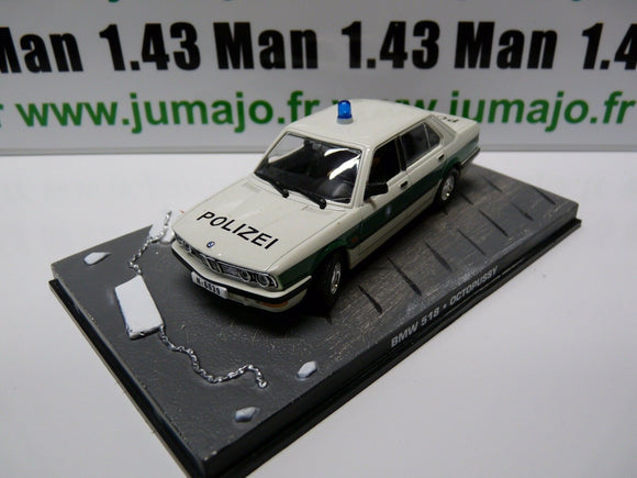 JB66H voiture 1/43 IXO 007 JAMES BOND : BMW 518 Octopussy Police