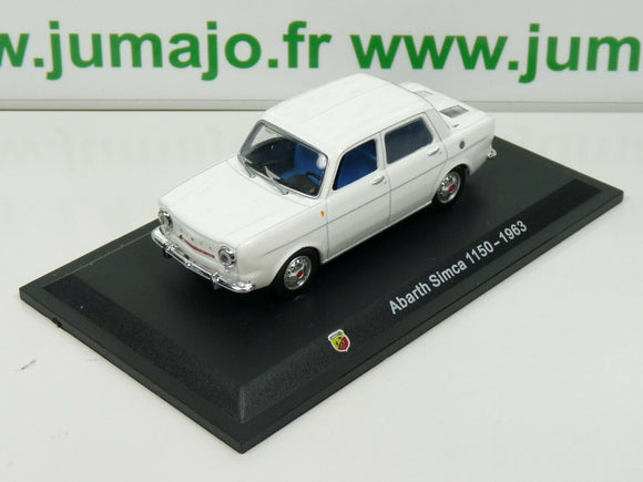 IT72 Voiture 1/43 Hachette STARLINE : ABARTH Simca 1150 - 1963