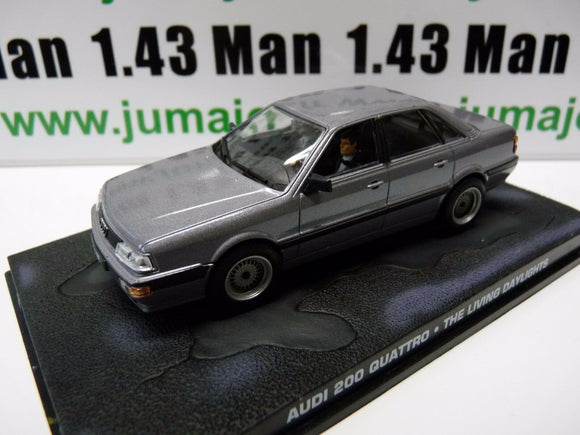 JB72 voiture 1/43 IXO 007 JAMES BOND : AUDI 200 Quattro  the living daylights