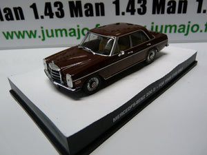 JB122 voiture 1/43 IXO 007 JAMES BOND Angleterre Mercedes Benz 200 D For your ey