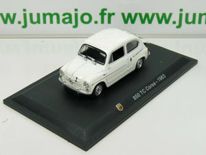 IT64N Voiture 1/43 STARLINE : FIAT abarth 850 TC Corsa 1963