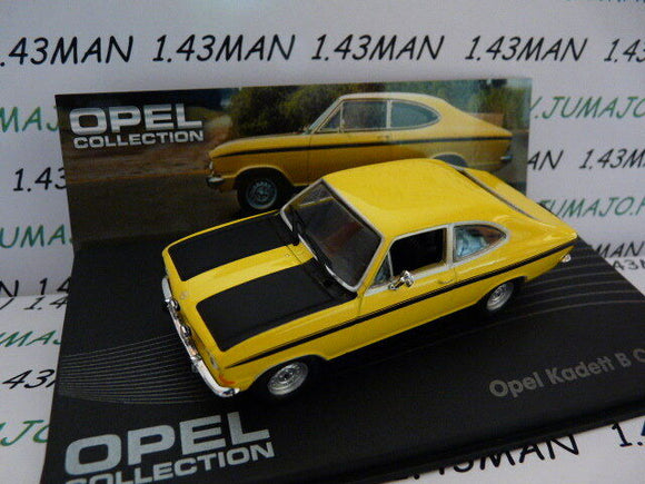 OPE56R voiture 1/43 IXO eagle moss OPEL collection : KADETT B coupé