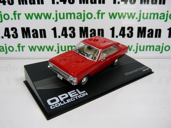 OPE107 voiture 1/43 IXO eagle moss OPEL collection : CHEVROLET OPALA 1968 69