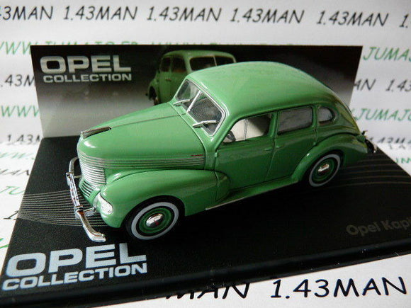 OPE28R voiture 1/43 IXO eagle moss OPEL collection : KAPITAN 38 1938/1940