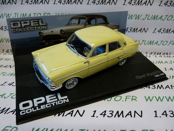 OPE34 voiture 1/43 IXO eagle moss OPEL collection n°70 : KAPITÄN 1955/1958