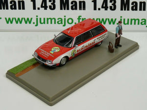 PU18 voiture 1/43 Eligor : CITROËN CX break SERRURIER