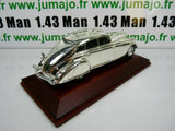 SIL13G VOITURE 1/43 IXO CHROME : Pierce Silver Arrow