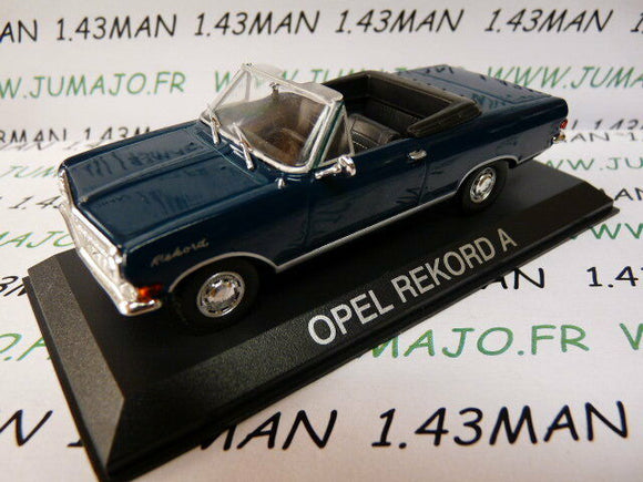 OPE28 Voiture 1/43 IXO DEAGOSTINI Balkans : OPEL REKORD A cabriolet