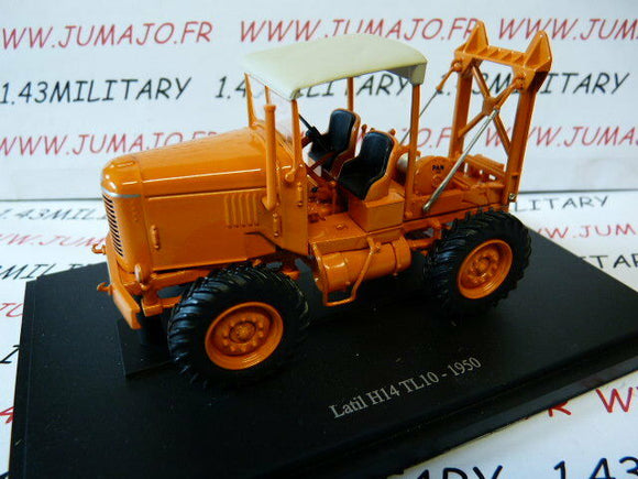TR85 Tracteur 1/43 universal Hobbies LATIL H14 TL 10 1950 forestier