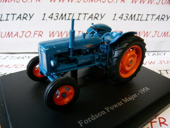 TR96 Tracteur 1/43 universal Hobbies FORDSON power major 1958