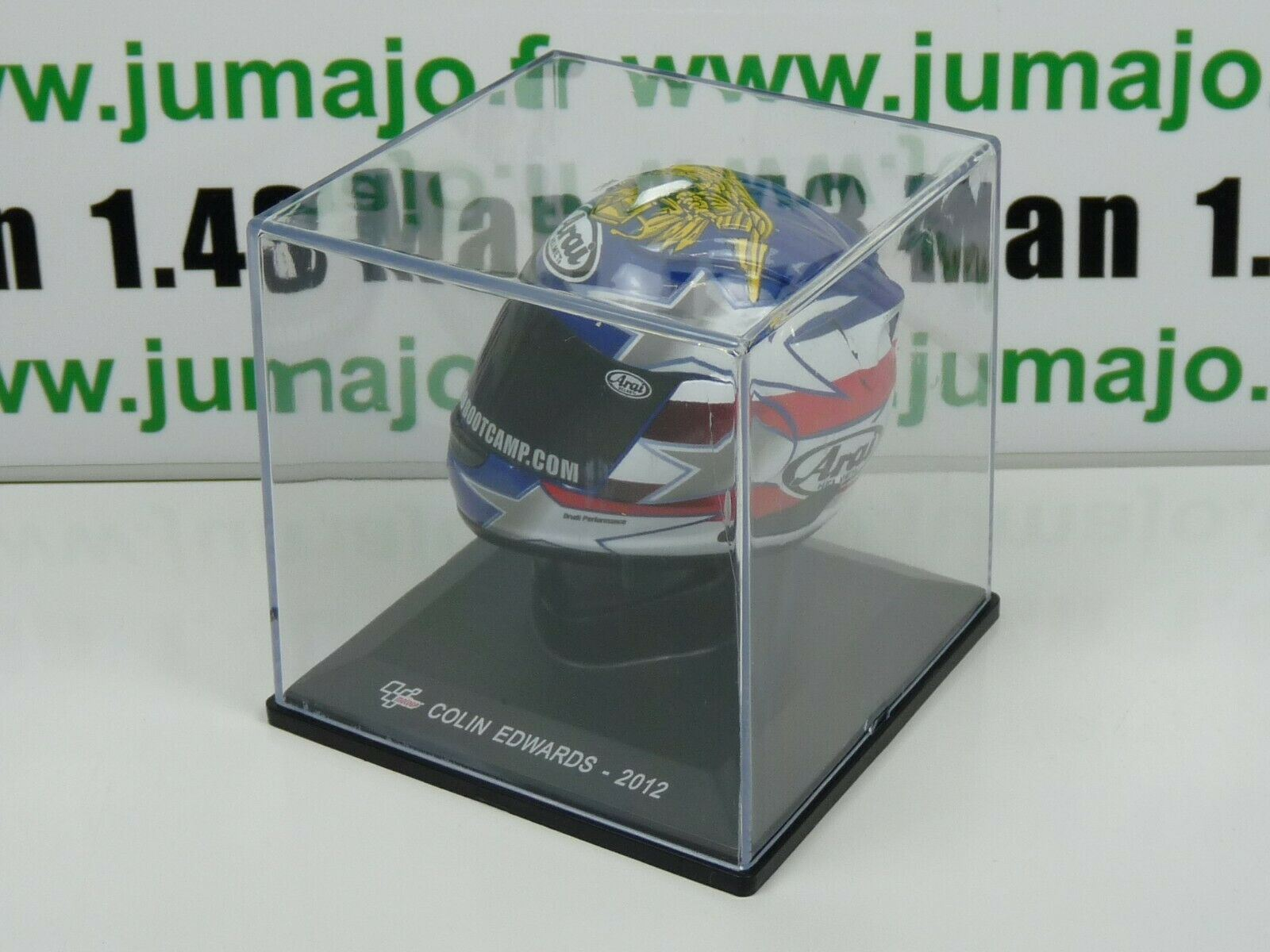 CM19G CASQUE MOTO GP 1//5 COLIN EDWARDS 2012