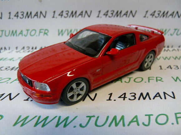 DC9 VOITURE 1/43 IXO déagostini russe dream cars : Ford Mustang GT