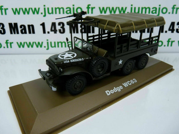 BL16H atlas IXO 1/43 Blindés WW2 : Dodge WC63 USA