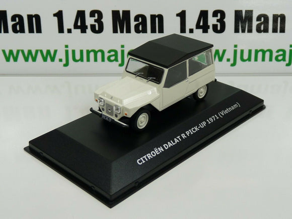 CVW6 1/43 IXO Direkt CITROËN 2cv world : DALAT R Pick-up 1971 Méhari Viet-Nam