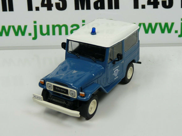 PM20 1/43 IST déagostini POLOGNE Police du Monde 4X4 TOYOTA Land Cruiser Grèce
