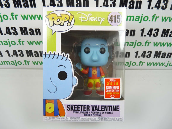 POP9F Vinyl FUNKO POP DISNEY : DOUG skeeter Valentine 415 summer convention
