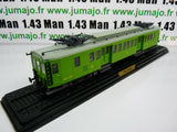 AM10G Automotrices train SNCF 1/87 HO : métallique Midi 1925 ZCEyf 23001