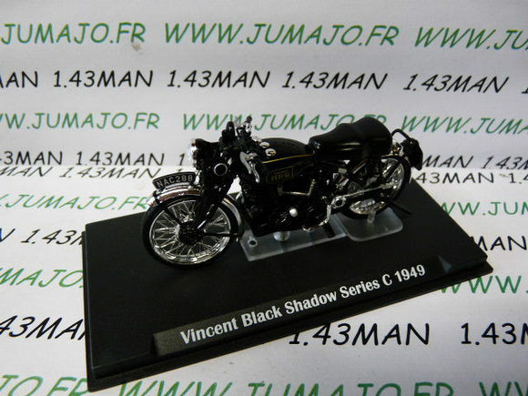 LD2C MOTO 1/24 test hachettes : VINCENT BLACK SHADOW series C 1949