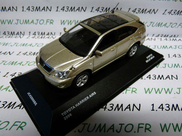 voiture 1/43 J collection JAPON : TOYOTA Harrier AIRS 2006